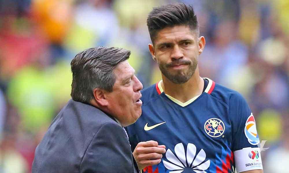 Miguel Herrera dice que Oribe Peralta no es un referente del América