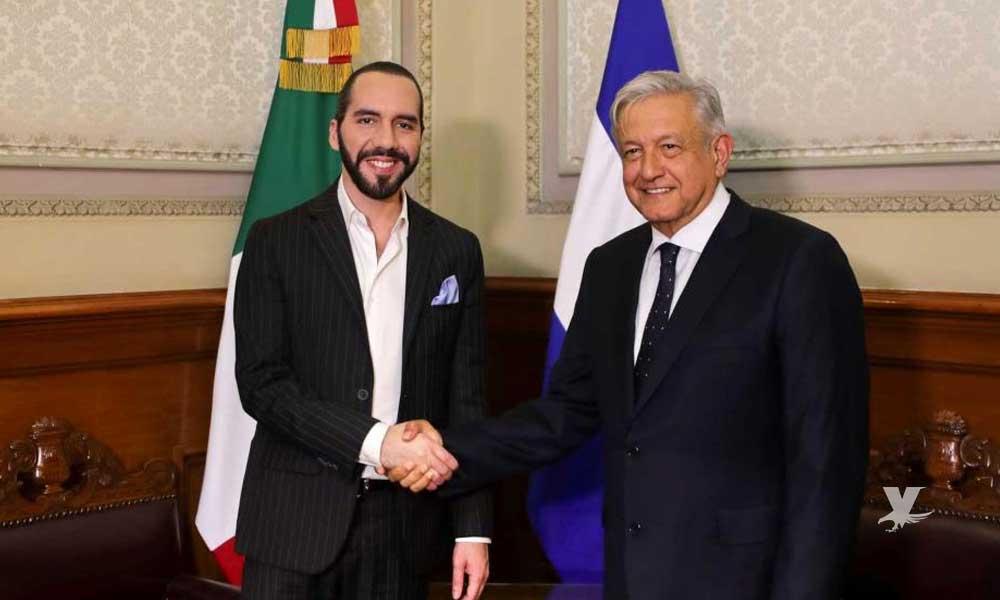 """Gobierno de AMLO """"abona"""" 30 millones de dólares a El Salvador para impulsar su desarrollo"""