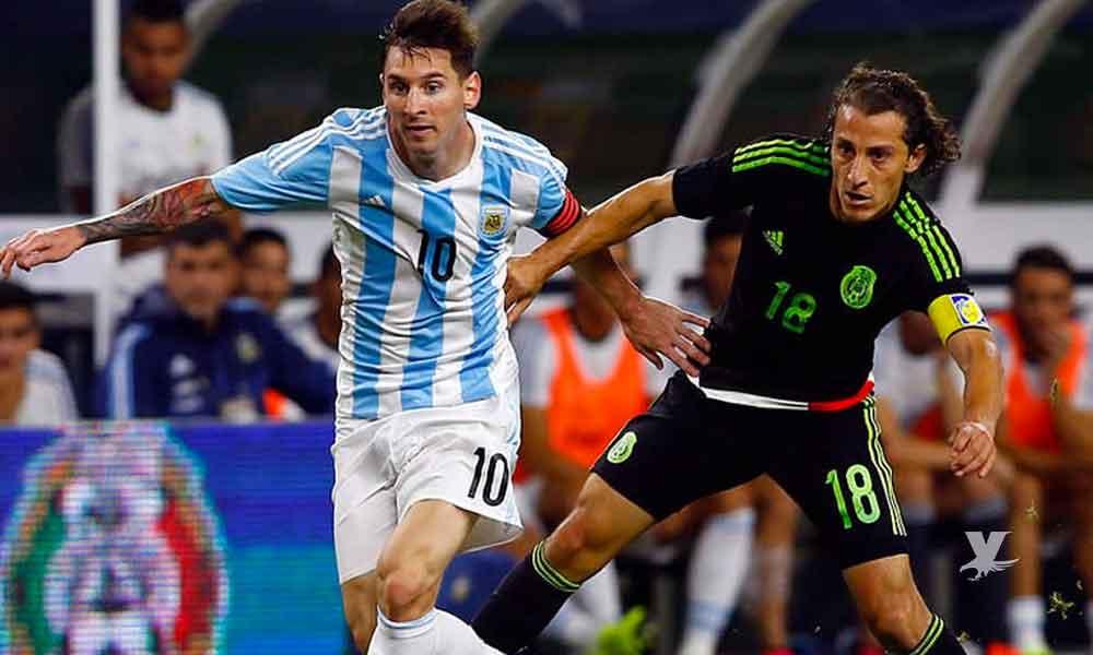México enfrentará a Argentina en septiembre