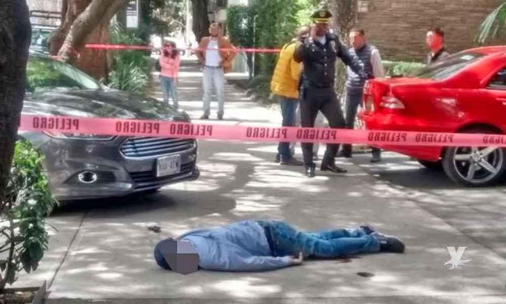 Asaltante es atropellado y muere tratando de escapar después de asaltar una taquería