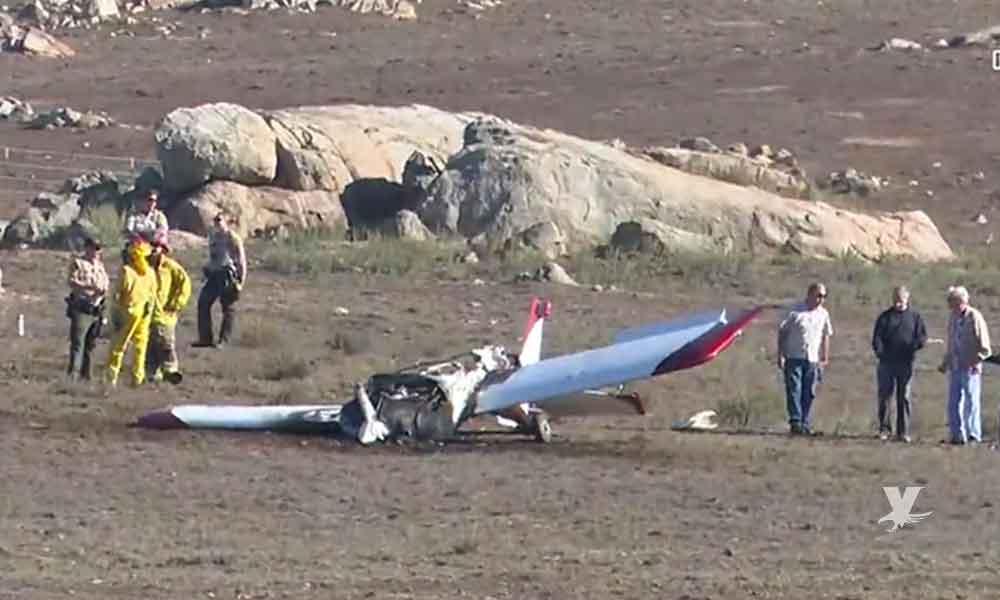 Avioneta se estrella cerca del aeropuerto de San Diego
