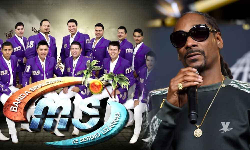 Snoop Dogg busca grabar una canción a dueto con la Banda MS