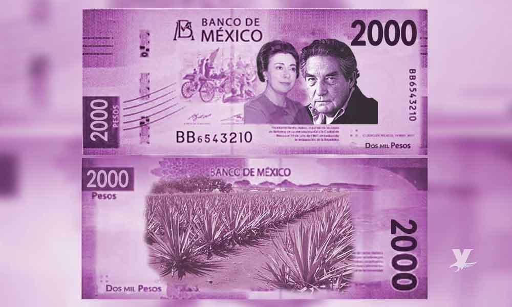 Banxico anuncia que el nuevo billete de 2 mil pesos saldrá hasta el 2022
