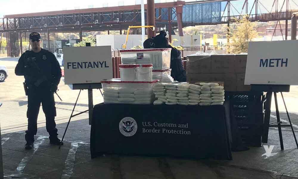 Agentes decomisan más de 13 millones de dólares en droga en garita de San Diego
