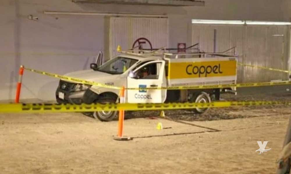 Ejecutan de 4 disparos a empleado de Coppel en Tijuana