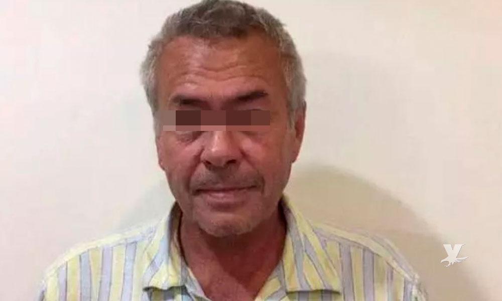 Detienen a hombre que secuestró y violó a su hijastra por 19 años, tienen 9 hijos