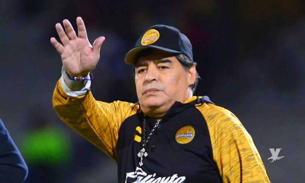 Maradona deja de ser entrenador de Dorados de Sinaloa