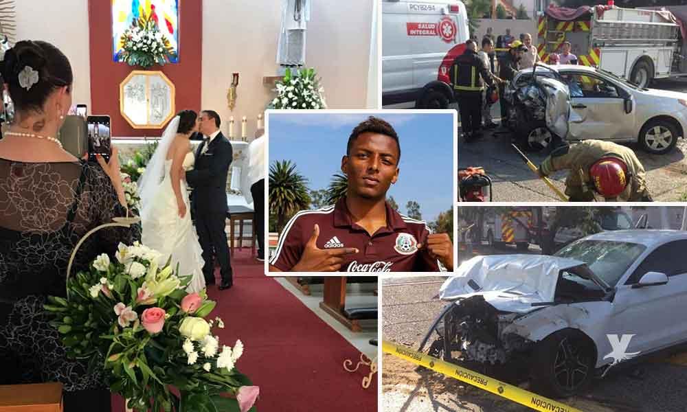 Futbolista mexicano en estado de ebriedad mata a pareja recién casada