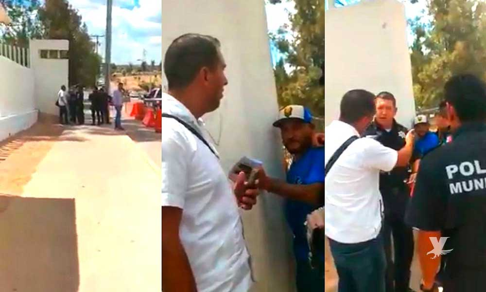 """Detienen a """"El Mijis"""" diputado de Morena por pelea callejera en Aguascalientes"""