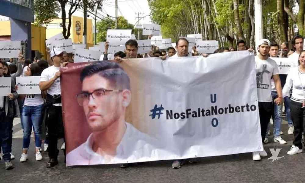 Necropsia reveló que Norberto fue estrangulado hasta la muerte el mismo día de su secuestro