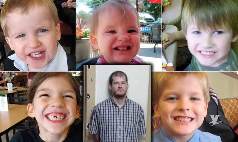 Hombre es sentenciado a pena de muerte por el asesinato de sus 5 hijos