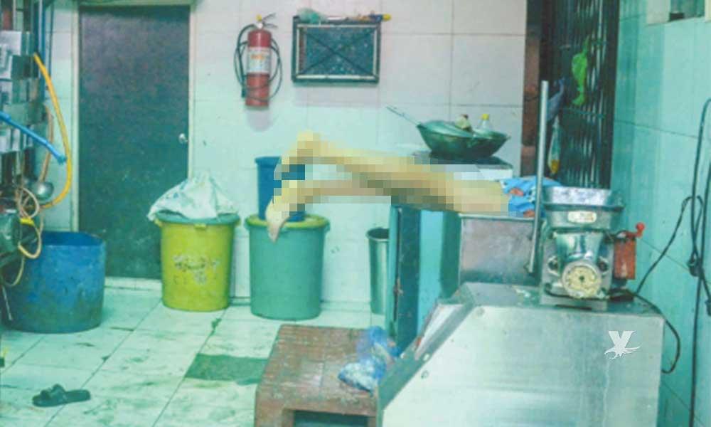 Joven muere triturado por máquina para salchichas