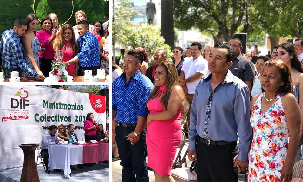 23 parejas se casan en Matrimonios Colectivos en Tecate