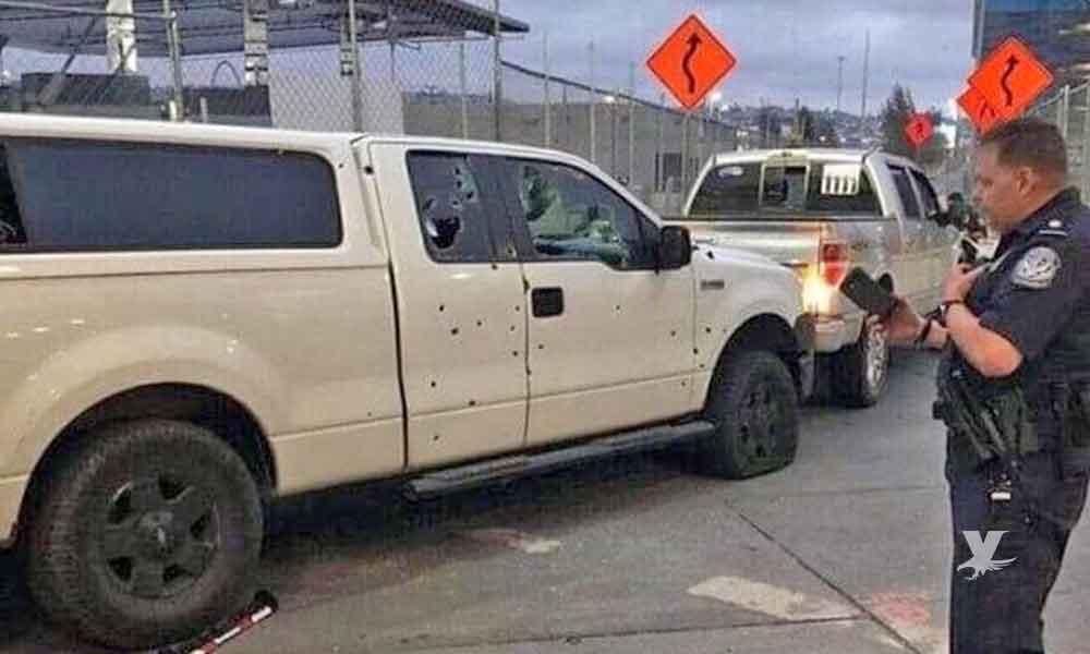 (VIDEO) Agentes fronterizos matan a hombre que los atacó a balazos en garita de San Ysidro, Tijuana