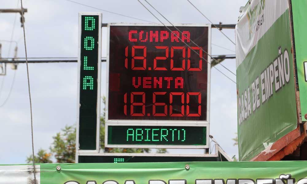 Precio del dólar hoy en Tecate