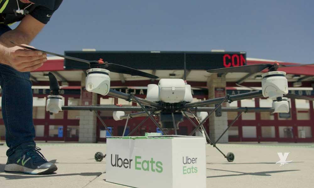 Uber Eats usará drones para entregar hamburguesas en San Diego