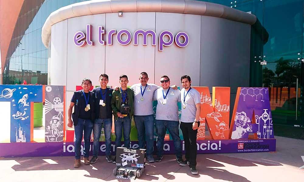 Estudiantesde UTT obtienen 1er y 2do lugar enelTorneo Estatal Bajabot 2019