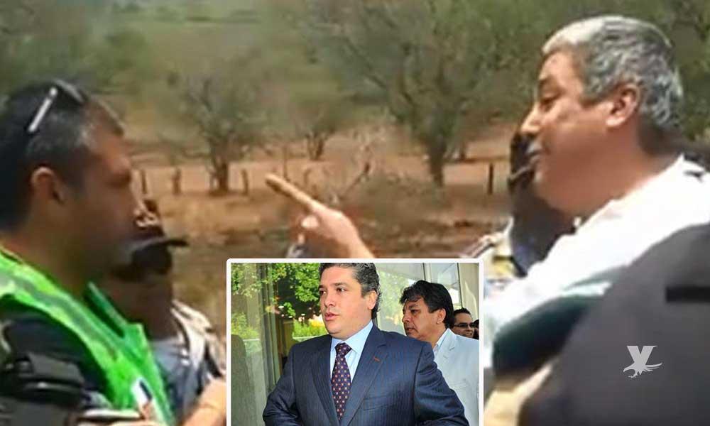 (VIDEO) Ex secretario de educación amenaza de muerte a personal del Gobierno Municipal