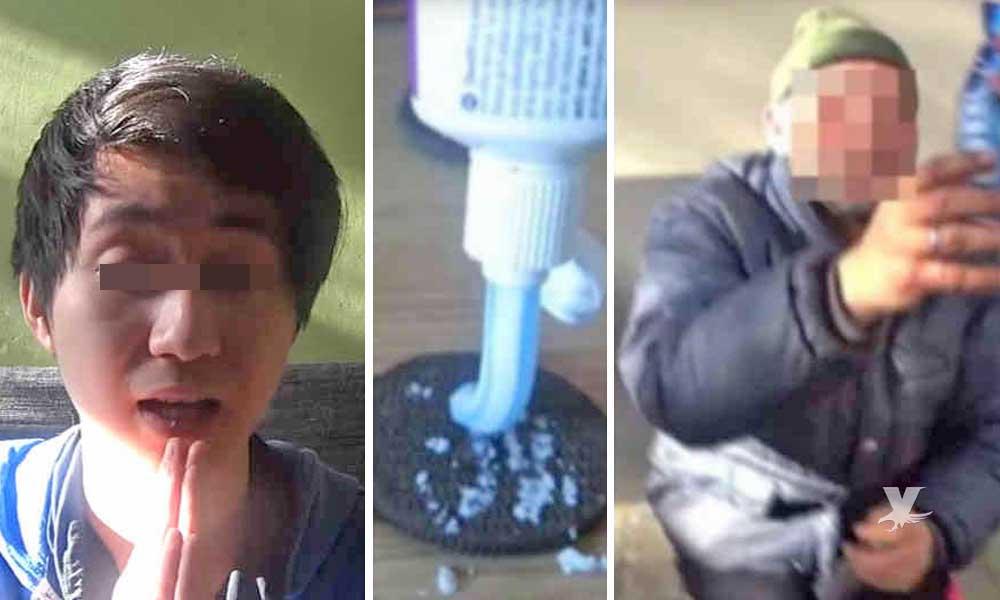 Condenan a prisión a un Youtuber que dio de comer galletas con pasta dental a un vagabundo