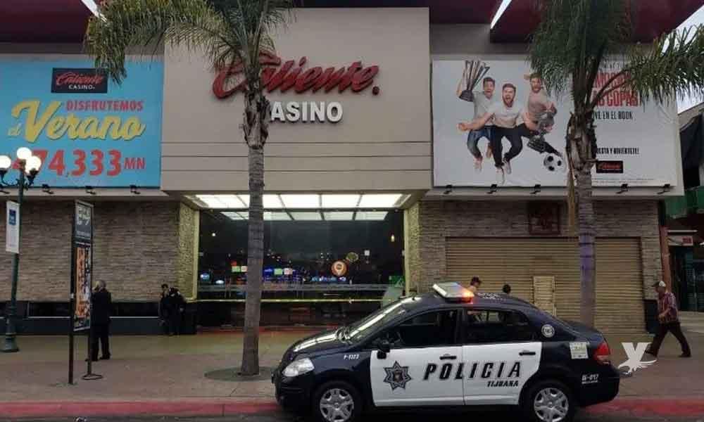 En pleno centro de Tijuana ejecutan a un hombre dentro de un Casino Caliente