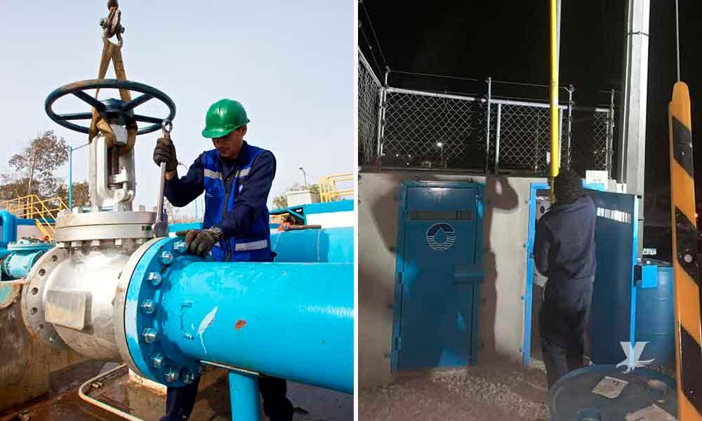Cespte trabaja para restablecer el suministro de agua en Valle de Las Palmas