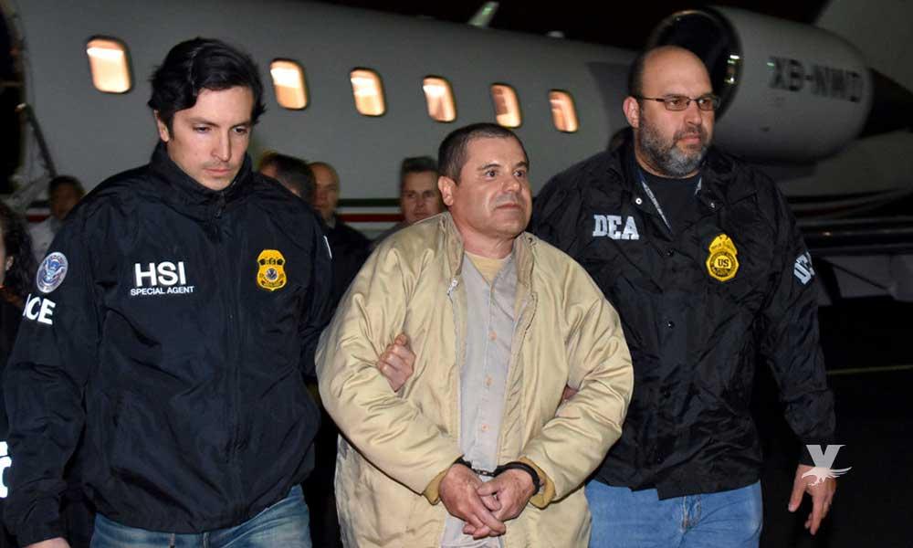 """Sentencian a Cadena Perpetua a Joaquín """"El Chapo"""" Guzmán"""