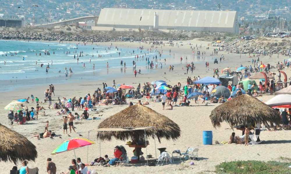 Playas de Ensenada están aptas para recibir a las familias de BC