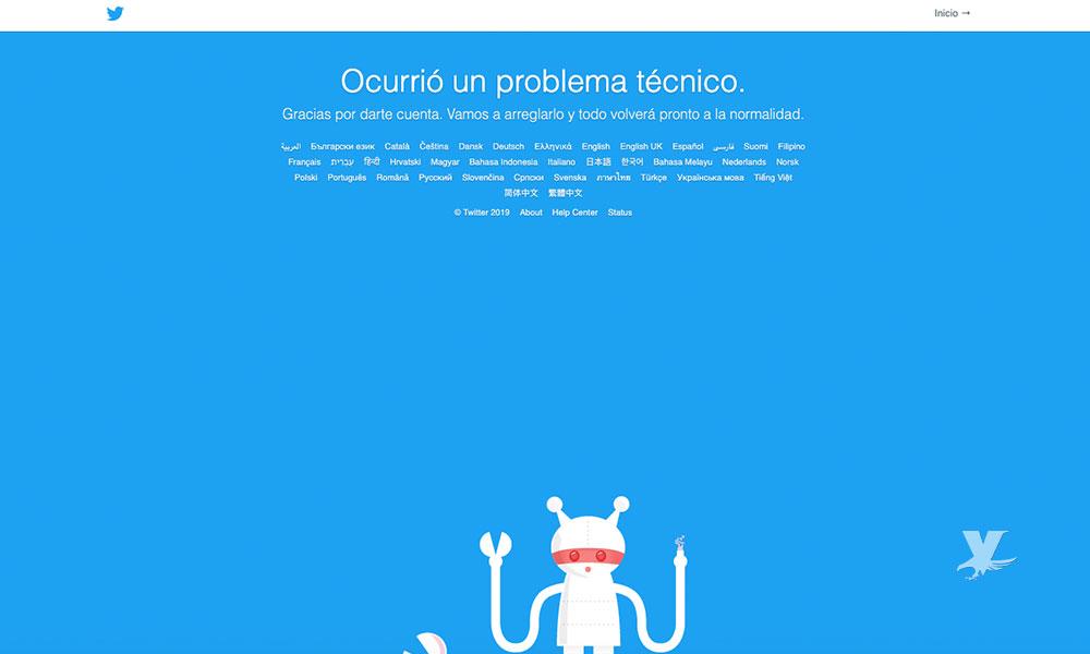 Twitter sufre caída en distintos países