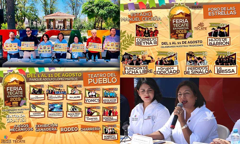 Anuncian la Feria Tecate en Marcha 2019