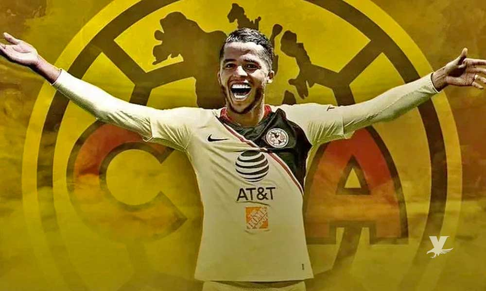 Giovani Dos Santos nuevo jugador de las Águilas del América