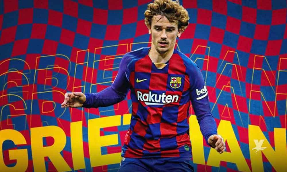 Barcelona hace oficial el fichaje de Antoine Griezmann