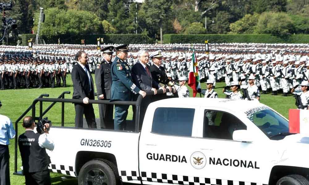 Hoy llegan 500 agentes de la Guardia Nacional a Baja California