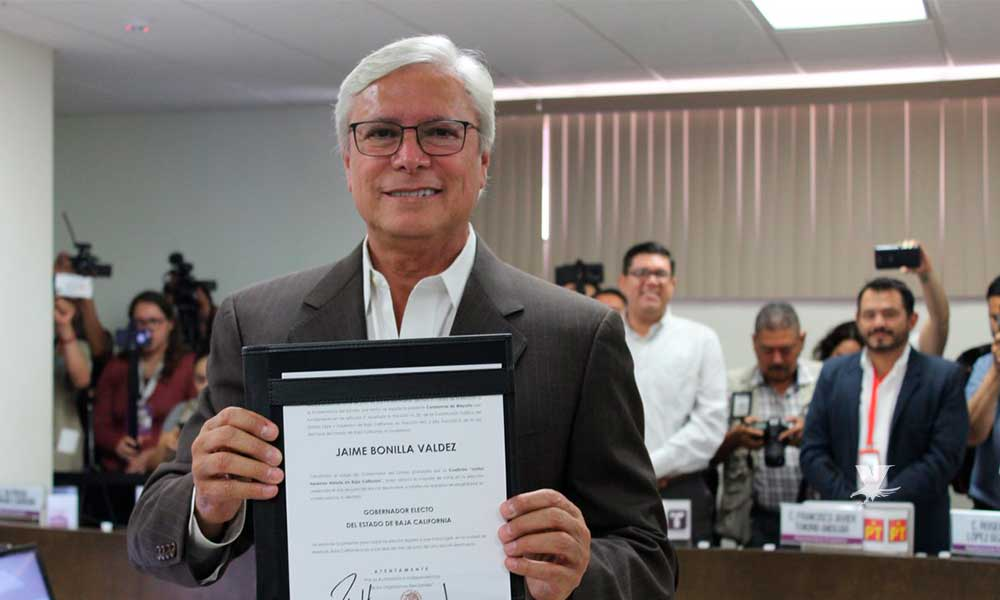 Congreso lo aprueba, Jaime Bonilla va como Gobernador por 5 años en Baja California