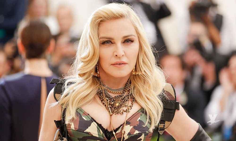 Madonna muestra fotos inéditas cuando posó desnuda a los 20 años de edad
