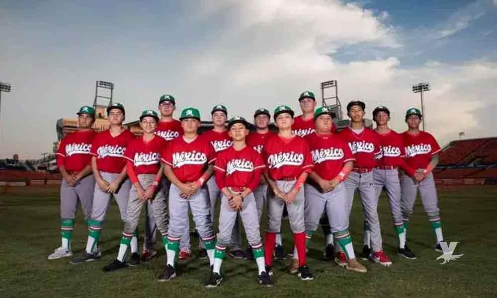 Jóvenes de Mexicali son campeones en torneo internacional de béisbol