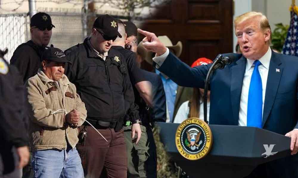 Autoridades confirman que este fin de semana inician las redadas masivas para deportar a los migrantes que viven en Estados Unidos