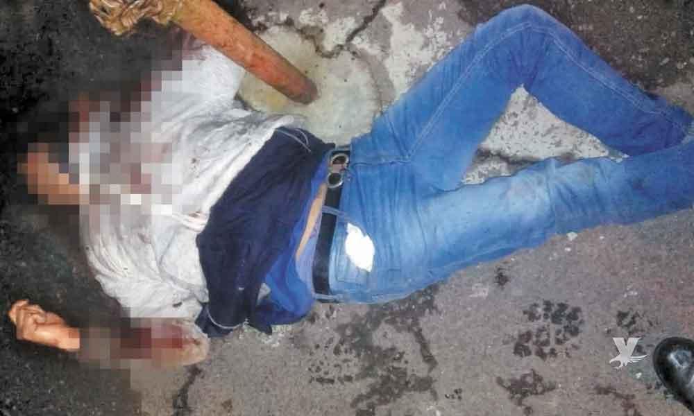 Vecinos linchan y matan a hombre por realizar disparos al aire
