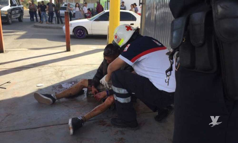 Hermanos pelean a 'machetazos' en Mexicali