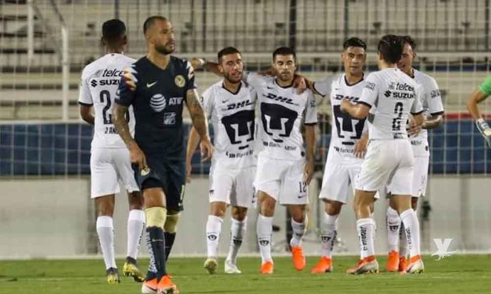"""Pumas golea a las """"nuevas"""" Águilas de Gio Dos Santos"""