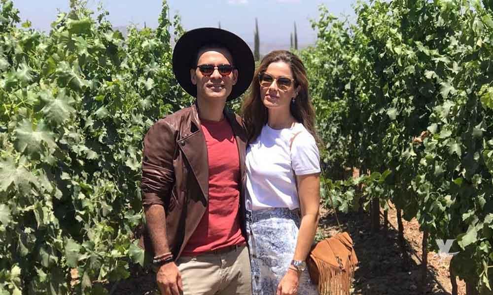 Rafa Márquez y su esposa Jaydy visitaron este fin de semana el Valle de Guadalupe