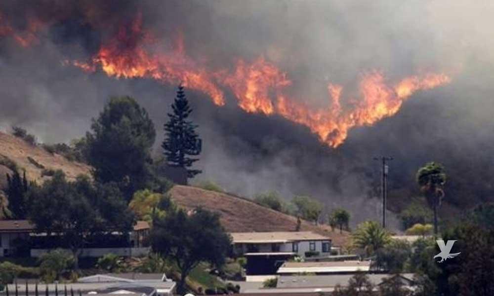 Autoridades de San Diego previenen a los ciudadanos por temporada de incendios