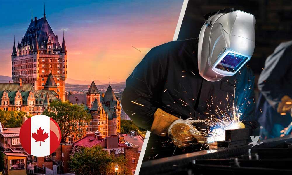 ¡Casi 300 pesos la hora! Canada busca soldadores mexicanos