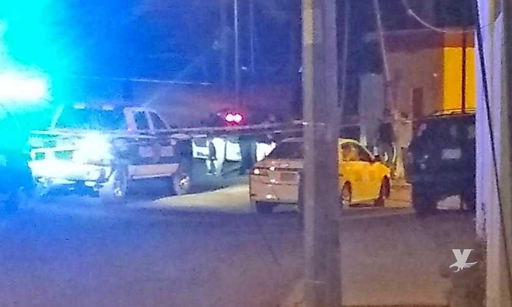 Chofer de taxi libre es ejecutado por la madrugada en Tijuana