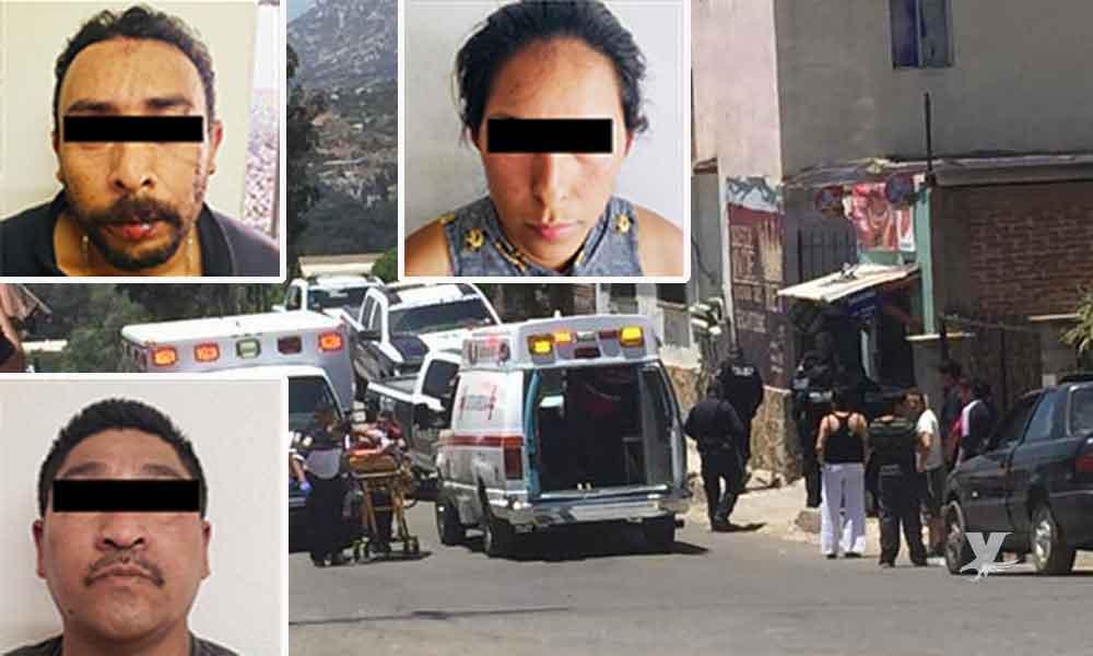 Banda de asaltantes tijuanense es detenida después de realizar un robo en negocio de Tecate