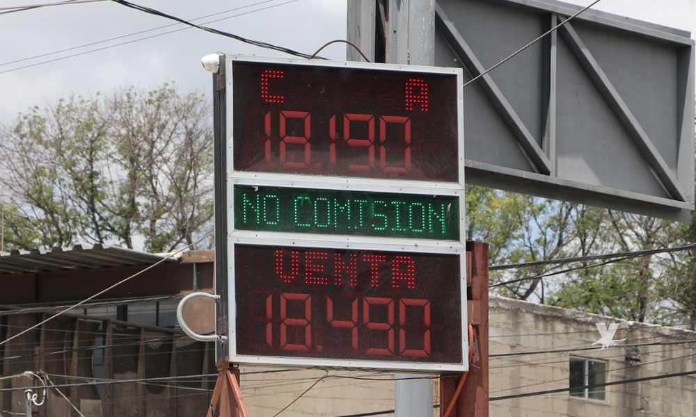 Precio del dólar en Tecate hoy