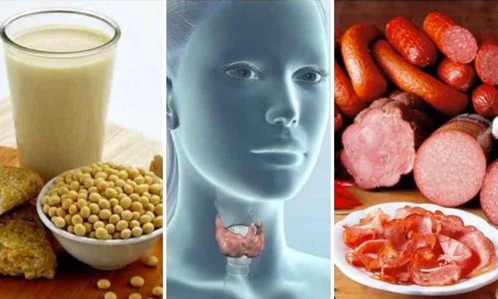 Alimentos diarios que dañan la tiroides