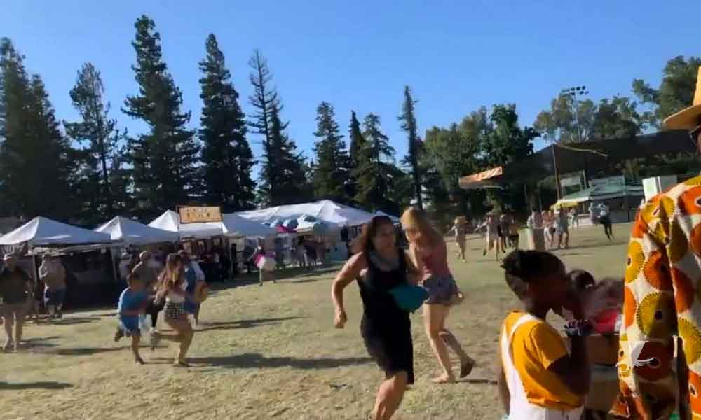 (VIDEO) Hombre realiza tiroteo al interior del Festival del Ajo en California