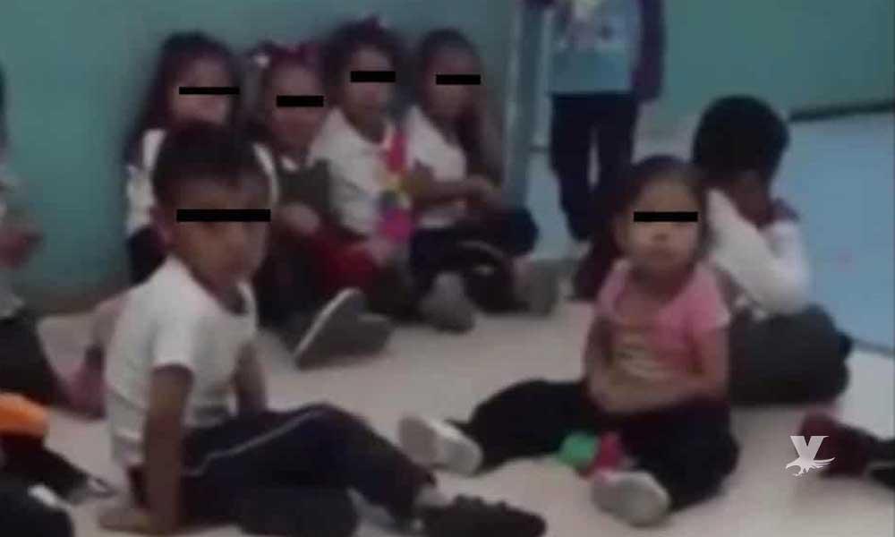 (VIDEO) Maestras de guardería utilizan audios de 'La Llorona' para obligar a los niños a estar en silencio