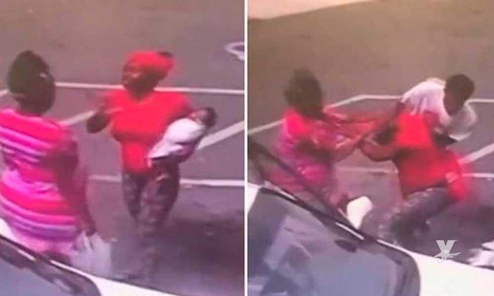 (VIDEO) Muere bebé después de que su madre la arrojara al suelo para pelear con otra mujer