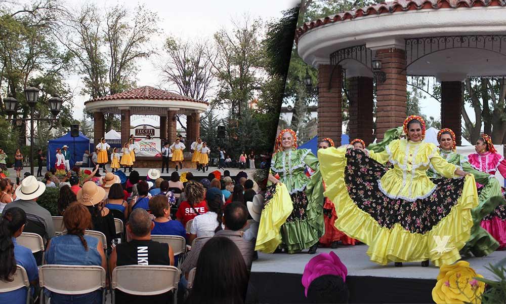 """Maestros jubilados del SETE BC, realizaron el tradicional programa """"Entre magia y cultura"""" en Tecate"""